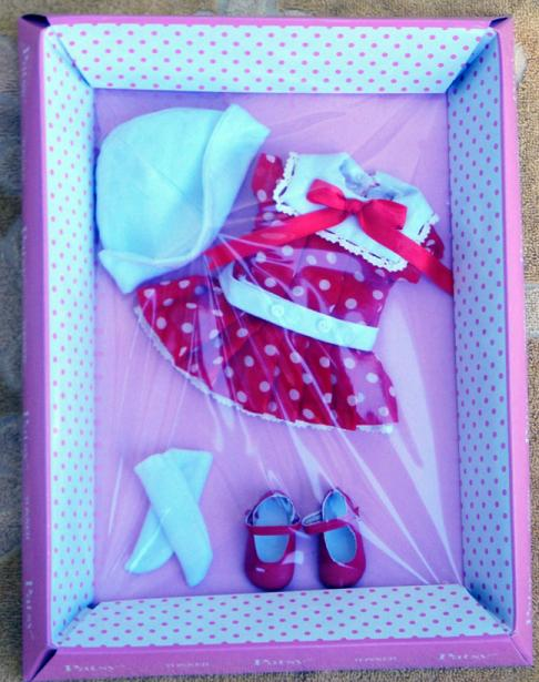 FBP0030 Effanbee Dots My Dress Patsy Doll Outfit Only Tonner 2013