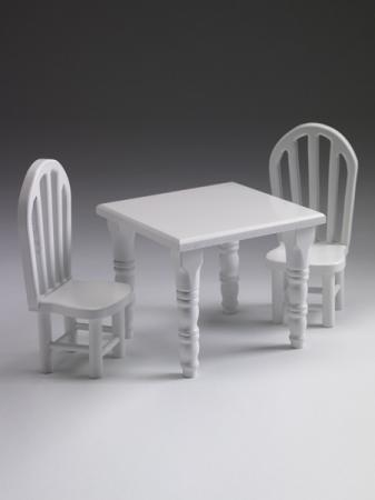 FBP0051 Effanbee 10 In. Patsy Doll Table and Chairs, 2013 Tonner