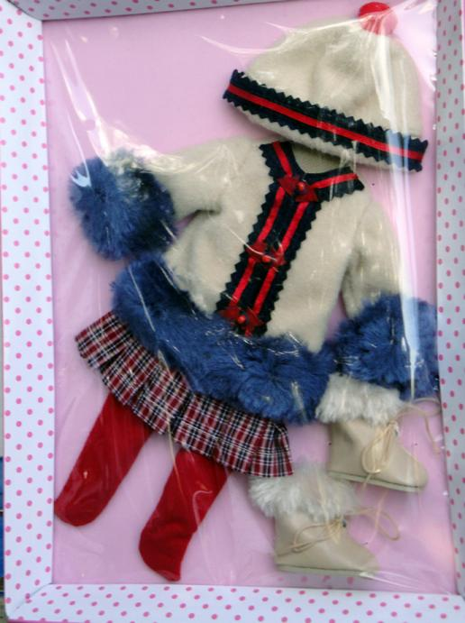 FBP0072 Effanbee Keeping Warm Patsy Doll Outfit Only Tonner 2014
