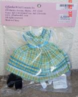 FBT0322 Effanbee Sunday Square Dance Petite Filles Doll Outfit 2008 1
