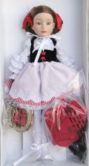 1FBT0503 Effanbee What Big Eyes You Have Red Riding Hood Doll 2009