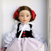 1FBT0503 Effanbee What Big Eyes You Have Red Riding Hood Doll 2009 2