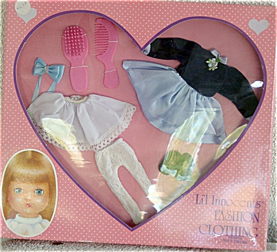 EFF0105 Effanbee L'il Innocents Doll Blue Dress Outfit 1989