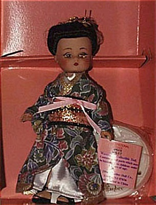EFF0211 Effanbee L'il Innocents Miss Japan Doll 1995