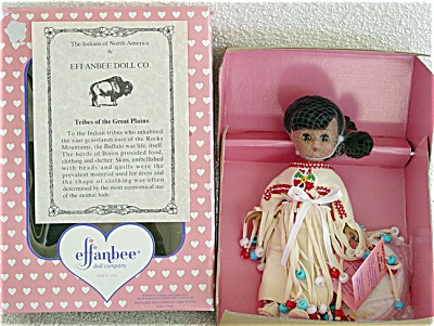 EFF0306F Effanbee Plains Indian L'il Innocents Doll 1996