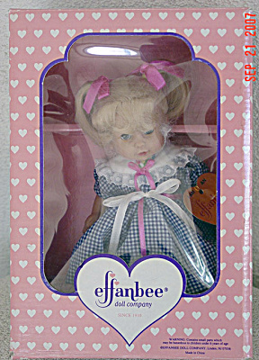EFF0430 Small Effanbee Katy Toddler Doll 1997