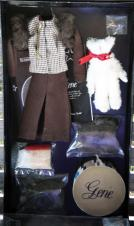 GEN0002 Good-bye New York Gene Doll Outfit Only, 1995
