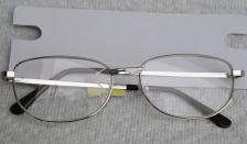 GLS0006 Reading Glasses +3.00 Power, Silver-Toned Frame 2