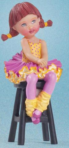 HKE0524B Helen Kish Suddenly Shy Riley Ballerina Figurine 2006