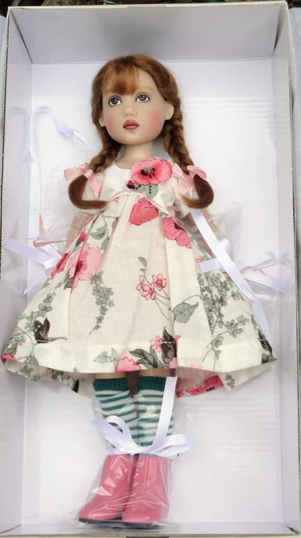 HKE0861 Olivia Tristesse 12 In. Ball-Jointed Doll,  2014 Helen Kish