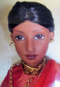 HKE0252 Kish 2002 Neela of India Doll, Book Set, American Girls 3