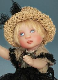 HKE0863 Clancy City Chic 6 in. BJD Doll, 2014 Helen Kish 2