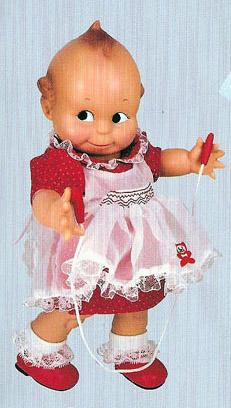 0KEW0024 Cameo Jump for Joy Kewpie Doll 2007 Charisma Brands
