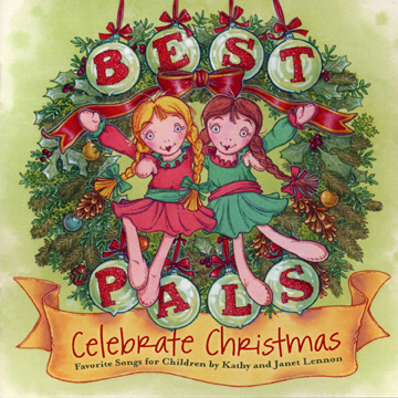 CDL0002 Kathy and Janet Lennon Best Pals Celebrate Christmas CD