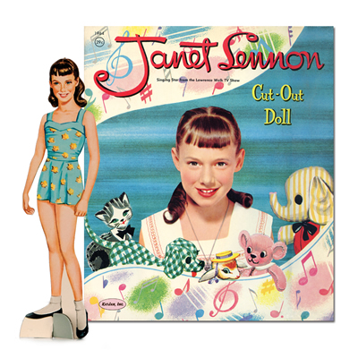 LSP0006 1958 Janet Lennon and Pets Paper Dolls, 2010
