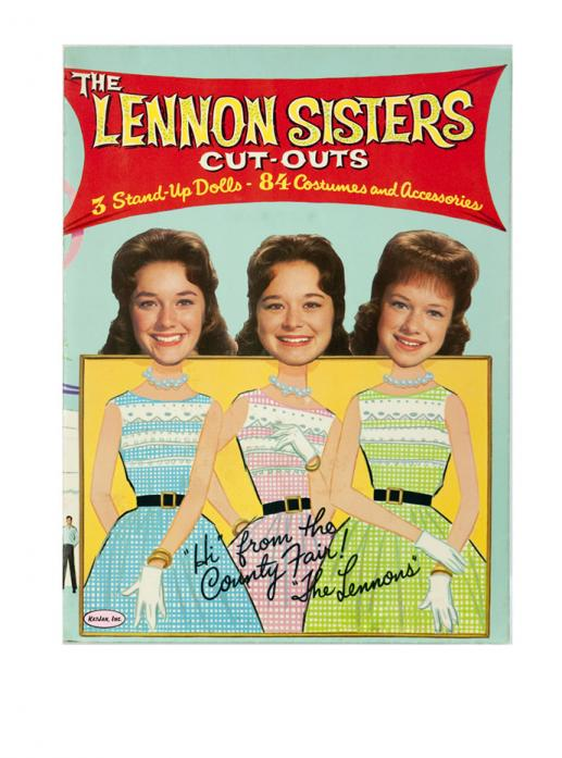 LSP0005 The Lennon Sisters 1963  Cut-Outs, At the County Fair
