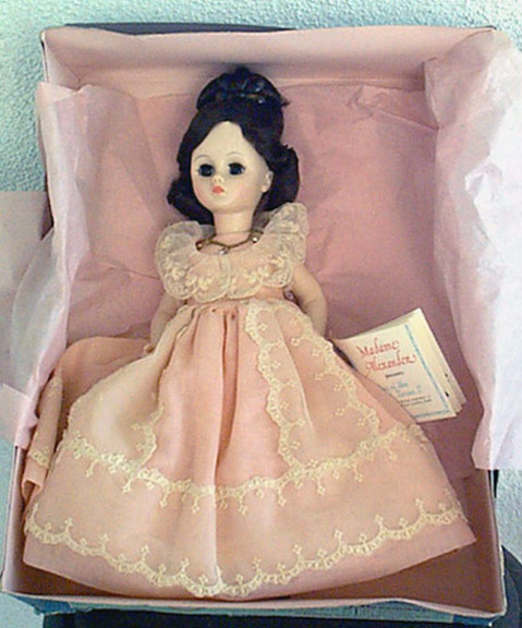 ALX0075a Madame Alexander First Ladies, Sarah Jackson Doll 1979