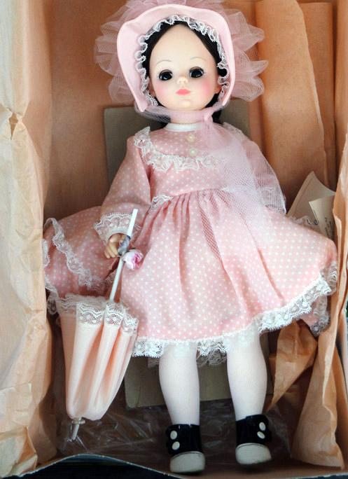 26dfaf31aa850 Madame Alexander Rebecca Doll, 14 In., 1970-85