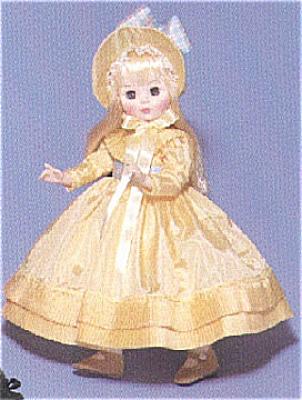 ALX0106 1989 Madame Alexander Ingres Doll in Yellow Dress