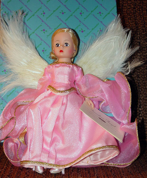 ALX0696 Madame Alexander 1995 Guardian Angel in Pink Cissette Doll