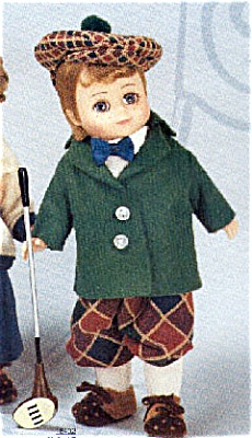 ALX0937B 1998 Madame Alexander Golf Boy Doll with Maggie Face