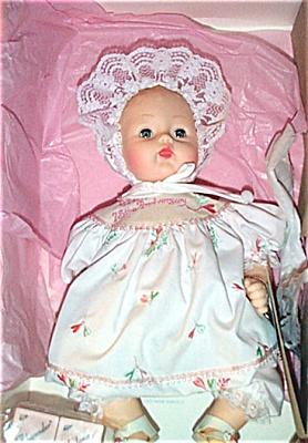 ALX0979 Madame Alexander 75th Anniversary Huggums Baby Doll 1998