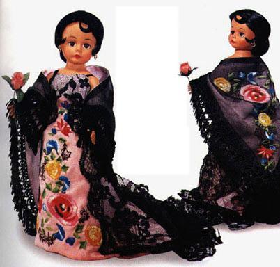 ALX1050 Madame Alexander Cissette Barcelona Doll 1999