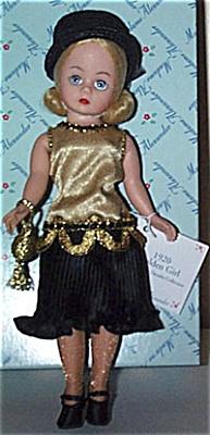 ALX1101C Madame Alexander Golden Girl 1920 Cissette Doll 1999