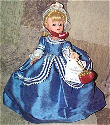 ALX2003A Madame Alexander 1954 Victorian Girl Cissette Doll 2000