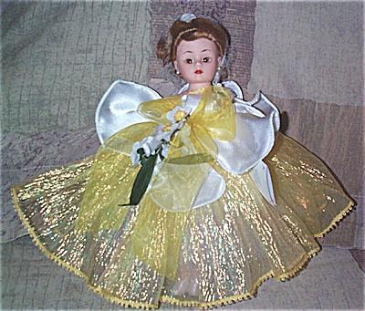 ALX2015 Madame Alexander Yellow Daffodil Cissette Doll 2000