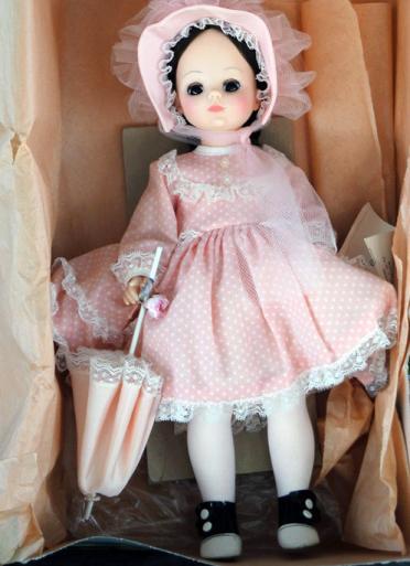 ALX0085 Madame Alexander Rebecca Doll, 14 In., 1970-85