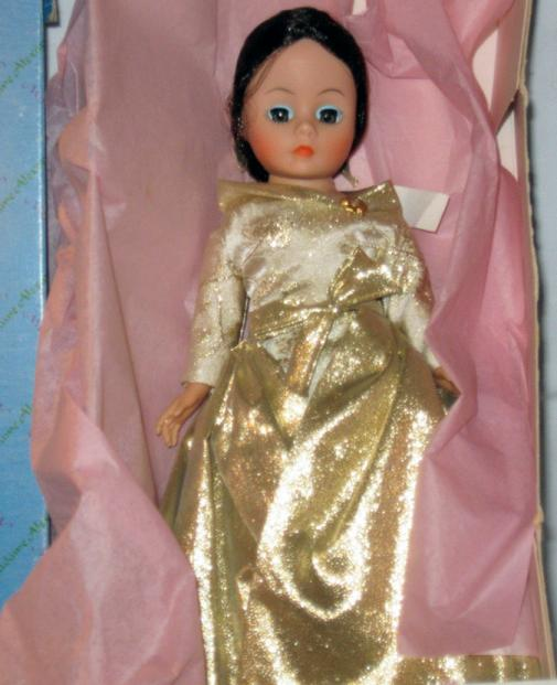 ALX0341 Madame Alexander 1989 Opening Night Cissette Doll