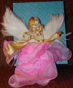 ALX0696 Madame Alexander 1995 Guardian Angel in Pink Cissette Doll 1