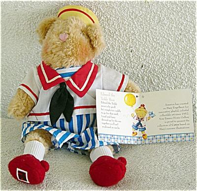 EME0003 Enesco Mary Engelbreit Cuties Edward Teddy Bear 1999