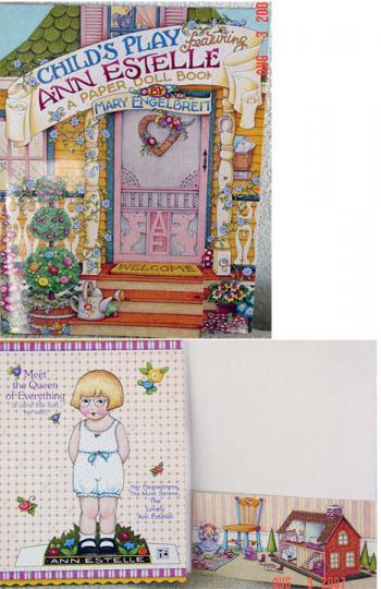 MEP00001 Mary Engelbreit Child's Play Paper Doll: Ann Estelle, 1998