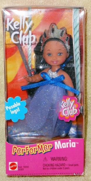 MAT0481 Mattel 2000 Kelly Club Circus Performer Maria Doll with Wand