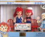 MAT0632 Mattel Kelly and Tommy Dolls as Raggedy Ann and Andy 1999