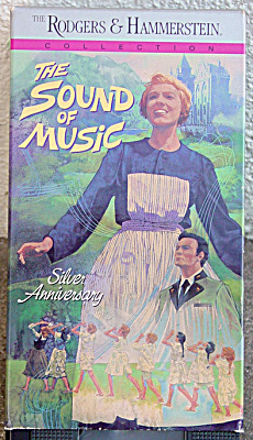 VHS0006 The Sound of Music VHS Color Movie 1990