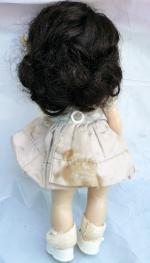 NAS0101 Nancy Ann Early 1950s Strung Brunette Muffie Doll 2