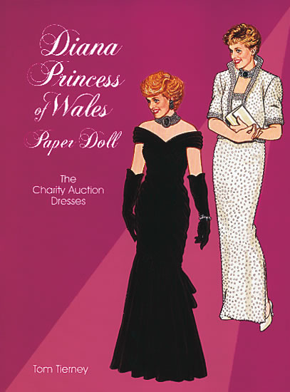 DOV0005 Diana, Princess of Wales, Paper Doll: The Charity Auction