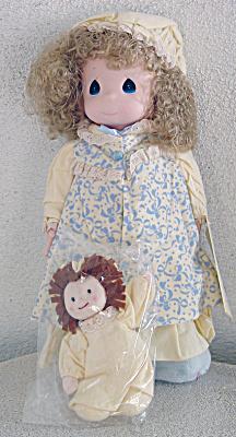 PMC0026 Precious Moments 1993 Dawn Doll with Rag Doll
