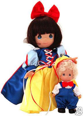 PMC0662B Precious Moments Snow White and Happy Dolls, Disney 2003-2008