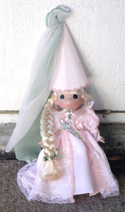 PMC0691 Precious Moments Inc. 9 In. Rapunzel Doll 2009