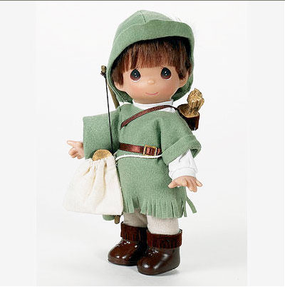 PMC0704 Precious Moments Co. Robin Hood Doll, 2008