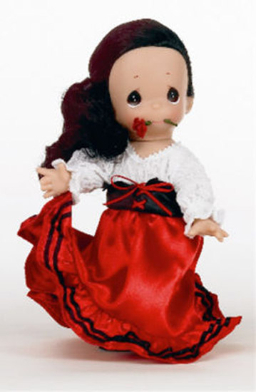 PMC0814 Precious Moments Marita of Spain Doll, 2010