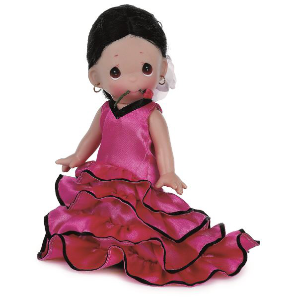 PMC0814A Precious Moments Sancia of Spain Doll, 2014