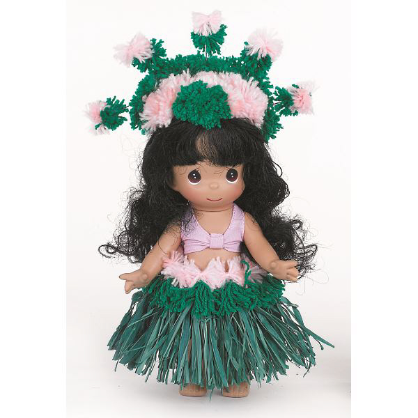 PMC0861 Precious Moments Makamae of Hawaii Doll, 2013