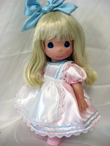 PMC0908A Disney Precious Moments Precious in Pink Alice Doll 2010