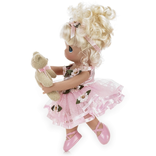PMC0926 Precious Moments Dance with Me Blonde Ballerina Doll 2011