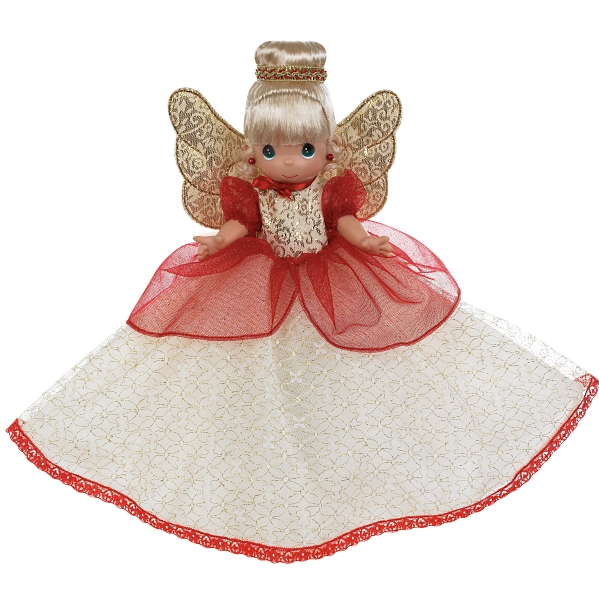 PMC0942 Precious Moments Christmas Blessings Tree-Top Angel 2012